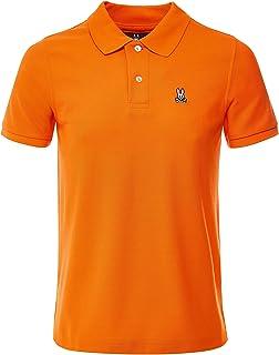 Men's Classic Polo Shirt Orange