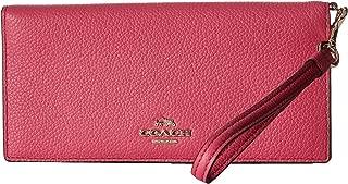 COACH Women's Slim Wallet LI/Dahlia/Carmine Wallet