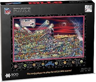NFL Buffalo Bills Joe Journeyman Puzzle - 500-piece
