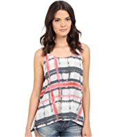 Jack by BB Dakota - Adelia Tie-Dye Plaid Top