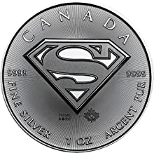 2016 No Mint Mark Canada CA Silver Superman (1 oz) Royal Canadian Mint $5 Seller Brilliant Uncirculated