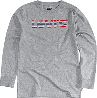 Levi's Boys' Long Sleeve Graphic Logo T-Shirt