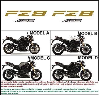 Matte Oro Ruote Moto Cerchione Decalcomanie Accessorio Adesivi per Yamaha FZ1