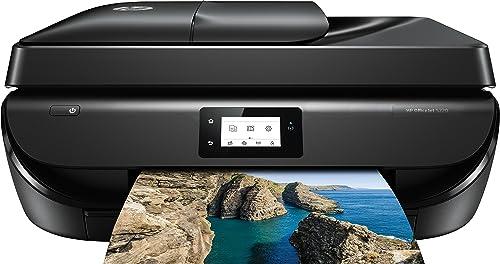 Imprimante HP OfficeJet 5220 avec Jet d'Encre 4800 x 1200dpi - 10 Pages par Minute - WiFi - Multifonctions (100 Feuil...