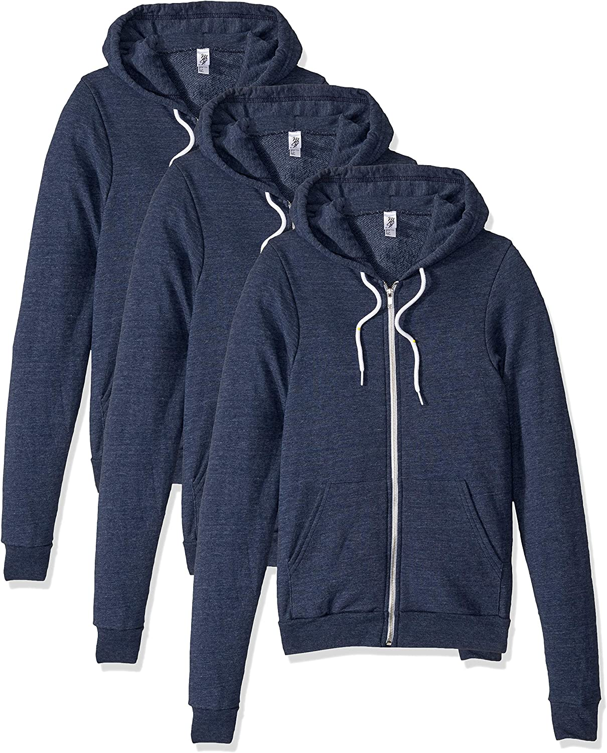 Marky G Apparel 40%OFFの激安セール Men's Triblend Zip 3 Pack Hood 毎週更新 Terry