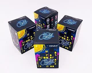 Kidrobot Set of 4 Blind Box City Cryptid Series Dunny Vinyl Figures
