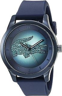 Lacoste Women 's 2000919Victoria Reloj analógico de cuarzo japonés de la visualización azul oscuro