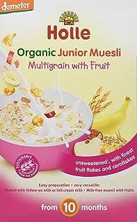 Holle Papilla de Muesli Multicereales con Fruta (+10 meses) - Paquete de 8 x 333.33 gr - Total: 2666.64 gr