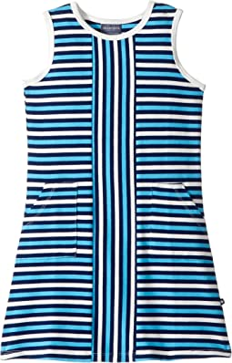 Blue Stripe Alexia Dress (Toddler/Little Kids/Big Kids)