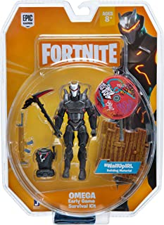 Fortnite Early Game Survival Kit Figure Pack, Omega