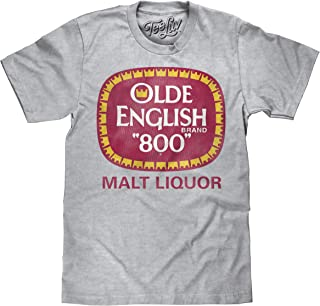 Tee Luv Olde English 800 T-Shirt - Olde English Malt Liquor Beer Shirt