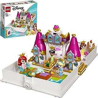 LEGO ǀ Disney 43193 Książka z przygodami Arielki, Belli, Kopciuszka i Tiany — ciekawy prezent do zbudowania dla dzieci