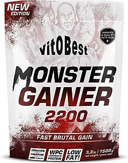 Carbohidratos MONSTER GAINER 2200 - Suplementos Alimentación y Suplementos Deportivos - Vitobest...