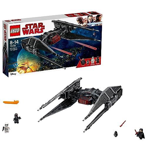 LEGO Star Wars - Kylo Ren's TIE Fighter - 75179 - Jeu de Construction