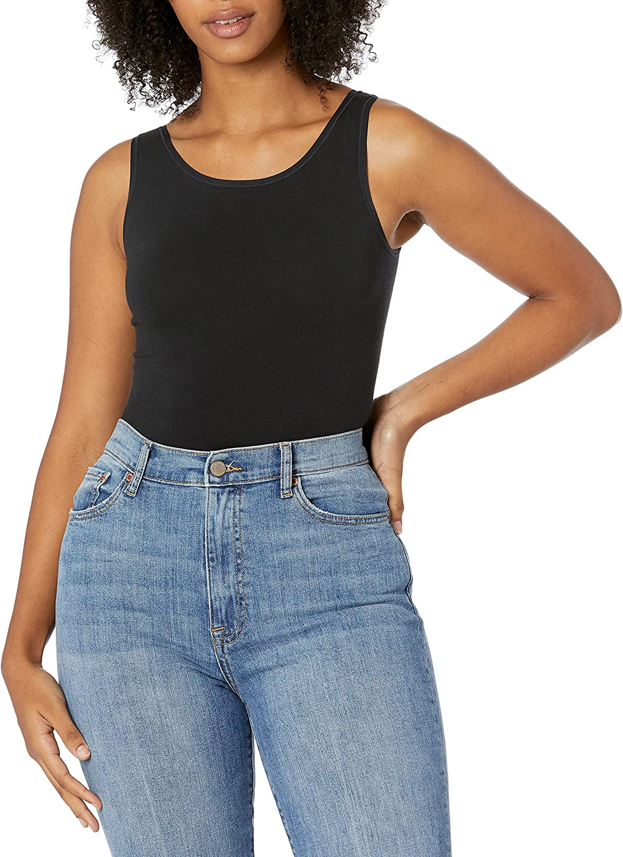 Yummie Women's Cotton Seamless Shaping Full Back Bodysuit