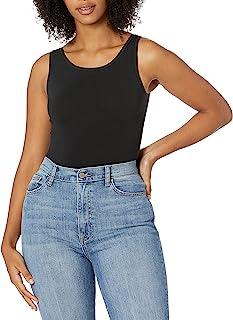 Yummie Women's Scoop Neck Full Back Body Suit Scoop Neck Full Back Bodysuit
