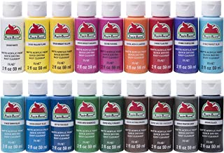 Apple Barrel Acrylic Paint Set, 18 Piece (2-Ounce),...