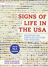 Signs of Life in the USA with 2016 MLA Update: Readings on Popular Culture for Writers