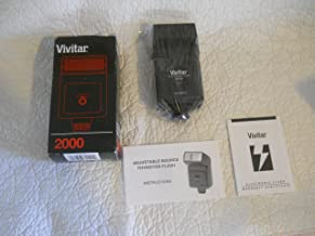 Vivitar 2000 Hotshoe Flash Manual Adjust Automatic