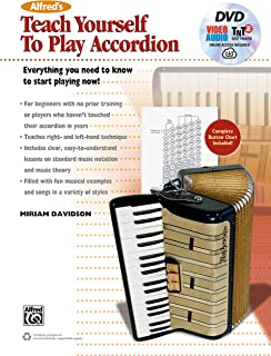Teach Yourself Play Accordion: Everything You Need to Know to Start Playing Now!