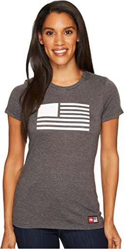 The North Face - International Collection Dome Fill Tri-Blend Tee