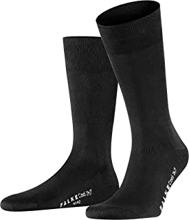 FALKE Men's Cool 24/7 Socks Cotton Black White More Colours Thin Light Colourful Calf Socks With Cooling Effect Ideal For ...
