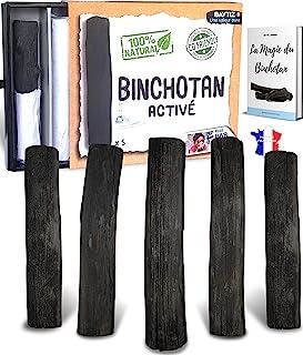 baytiz | Filtre à Eau Végétal au Charbon Actif - Baton de Binchotan Bio x5 - Purifier l' Eau du Robinet - en Bois Naturel...