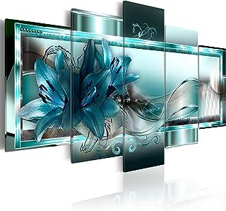 B&D XXL murando Quadro su Vetro Acrilico200x100 cm - 5 Parti Quadro Moderno Impreso Stampa Immagini Murale Fotografia Deco...