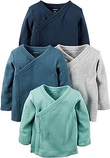 Baby Boys 4-Pack Cotton Kimono Tees