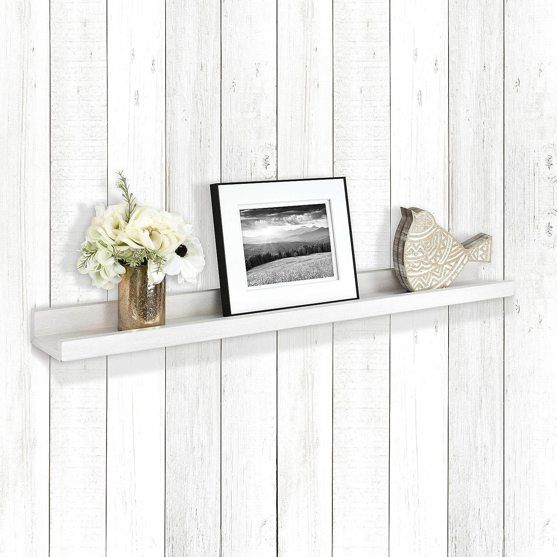 MCS Industries Price reduction 68915 White Woodgrain Inch Picture Ledge Excellent 35