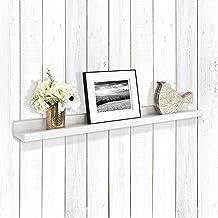 إطارات صور MS Industries MCS أبيض من الخشب الحبيبي مقاس 35 بوصة