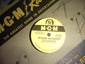 Beyond the Sunset-too Many Parties 78 Rpm Record