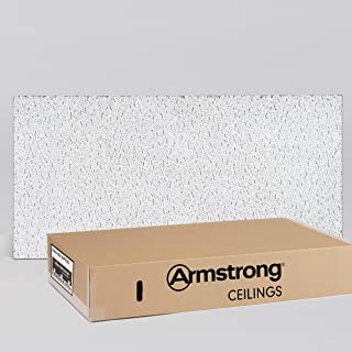 Armstrong Ceiling Tile; 2x4 Ceiling Tiles - Acoustic Ceilings for Suspended Ceiling Grid; Quality Drop Ceilings Direct from the Manufacturer; FISSURED Item 755 - 12 pcs Lay-in