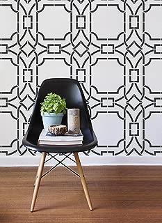 contemporary wall stencils