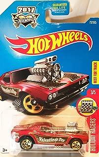 Hot Wheels 2017 HW Holiday Racers Rodger Dodger 73/365, Maroon
