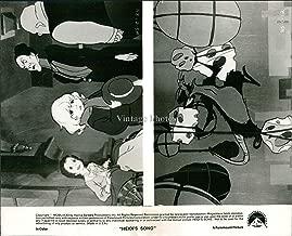 Vintage Photos Cartoon Heidi'S Song Rat Eating Cheese Little Blonde Girl Promo Photo 8X10