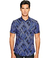 Versace Collection - Short Sleeve Button Down