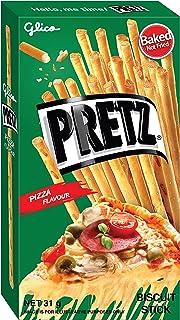 Glico Pretz Flavored Biscuit Stick, Pizza, 31 g