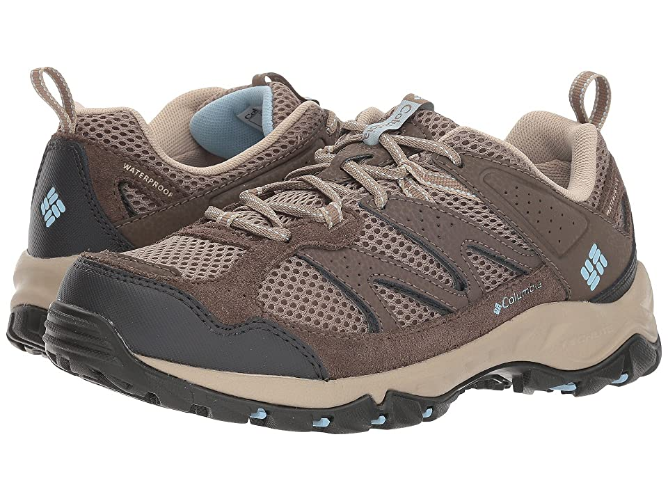 Columbia Plains Ridgetm Waterproof (Pebble/Oxygen) Women