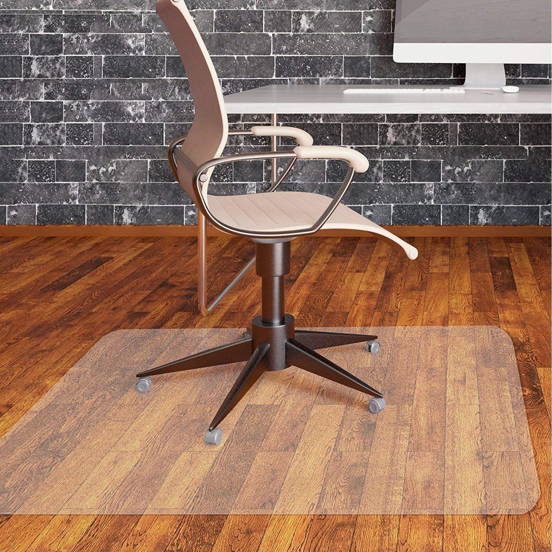 Office Chair Mat for Hardwood Floor by Somolux Computer Desk