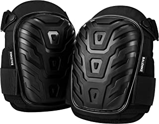 Professional Knee Pads for Work – Heavy Duty Foam Padding Gel Construction Knee..