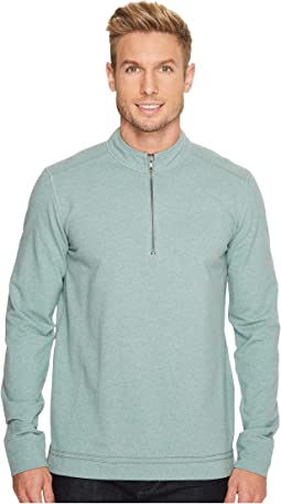 Ecoths - Osborne Zip Neck Top