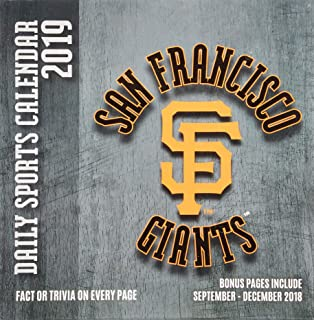san francisco giants 2019 calendar