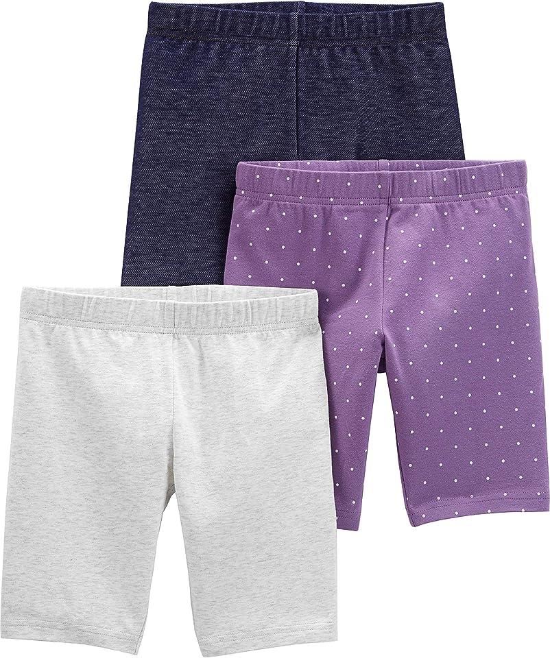 Girl's 3-Pack Bike Shorts