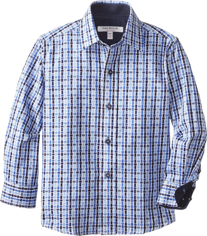 Isaac Mizrahi Little Boys' Checker Shirt