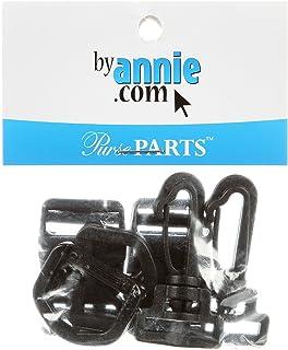 Patterns ByAnnie Hardware Set Black 3/4in Style 500