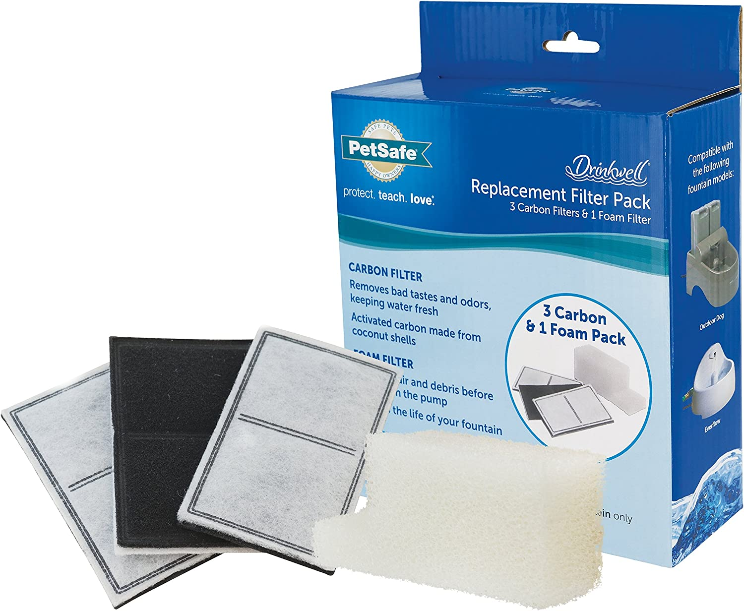 PetSafe Drinkwell Replacement Filter Kit Selling rankings and for Ou the Everflow Inexpensive
