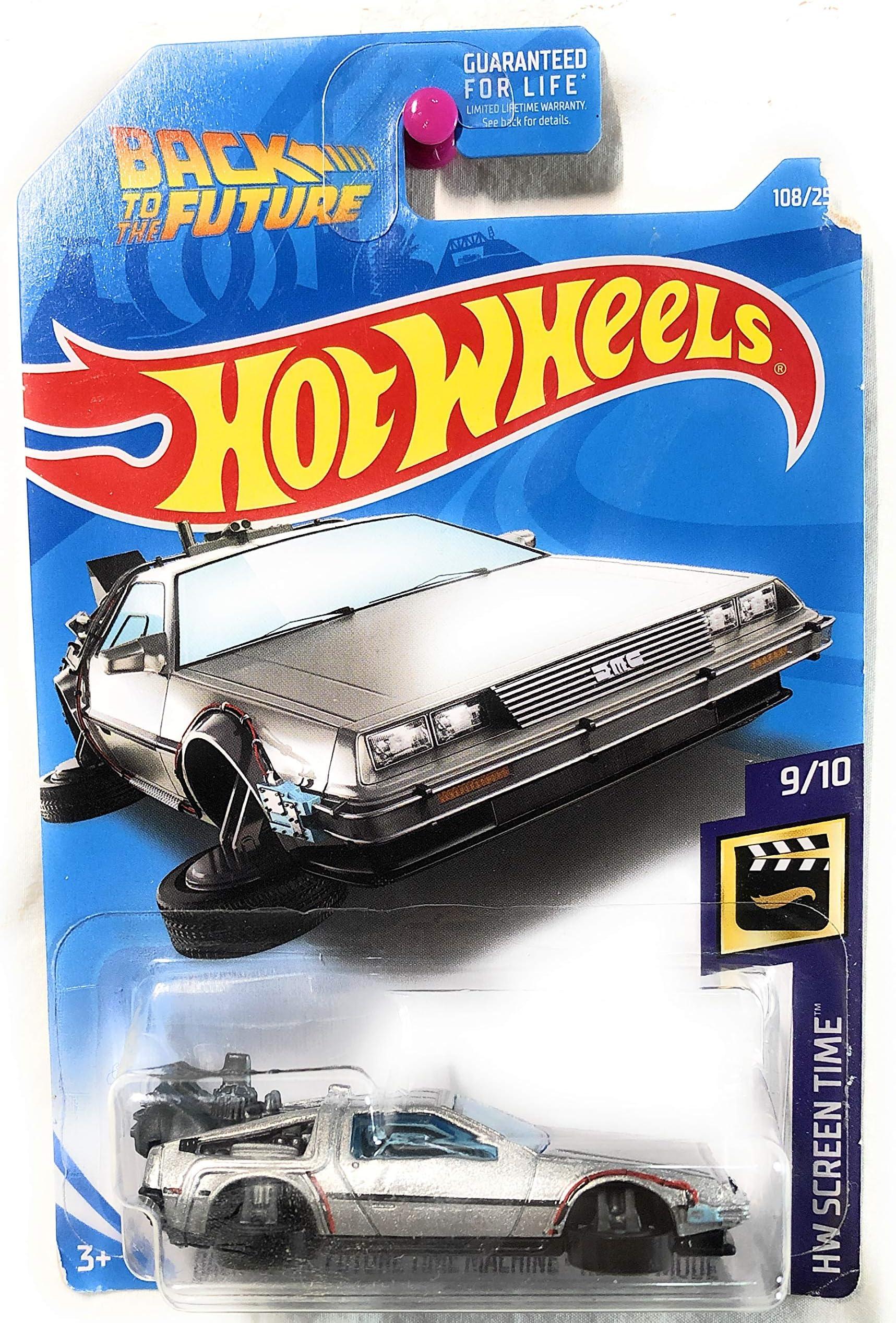 Hot Wheels 2020 HW Retro Entertainment Back To The Future Time Machine