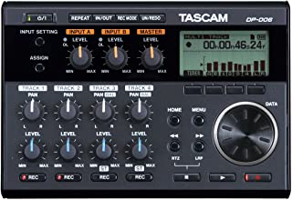 Tascam DP-006 6-Track Digital Pocketstudio چند ضبط صوت ضبط شده