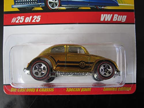 Hot Wheels VW Bug (spectraflame Dark Gold) 2005 Classics Serie 1 25